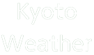 Kyoto Weather